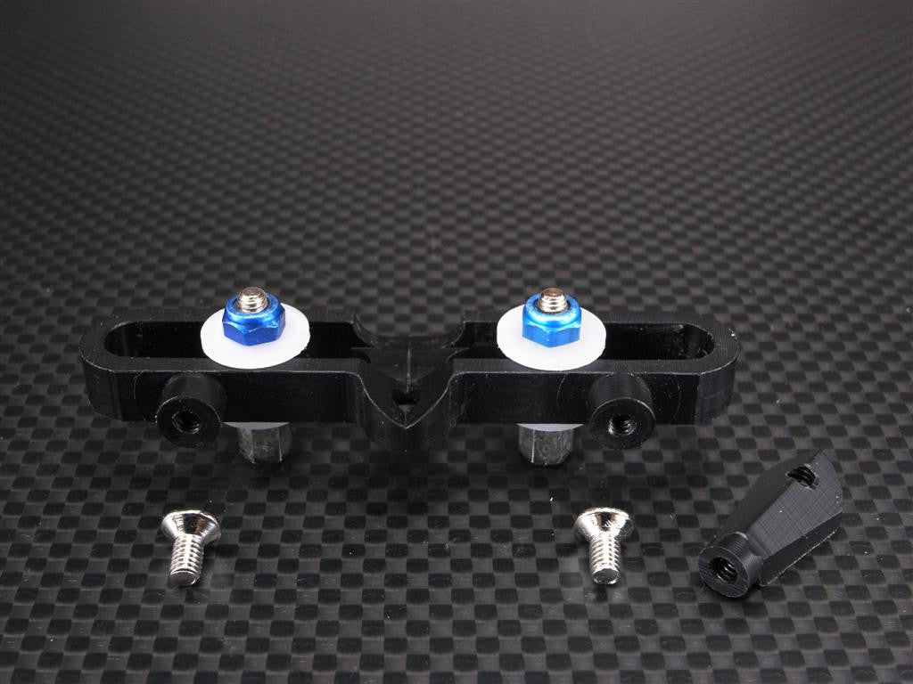 Team Associated TC3 Delrin Steering Rack - 1 Set Blue