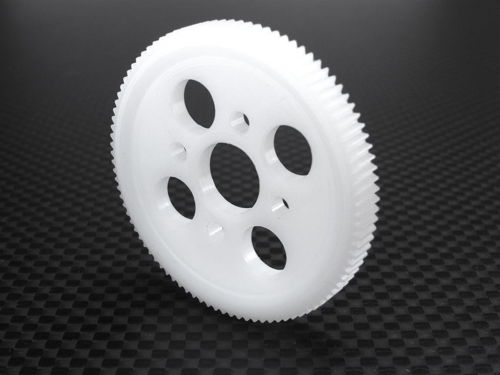 Team Associated TC3 Delrin Spur Gear 64 Pitch 95 Teeth - 1 Pc White