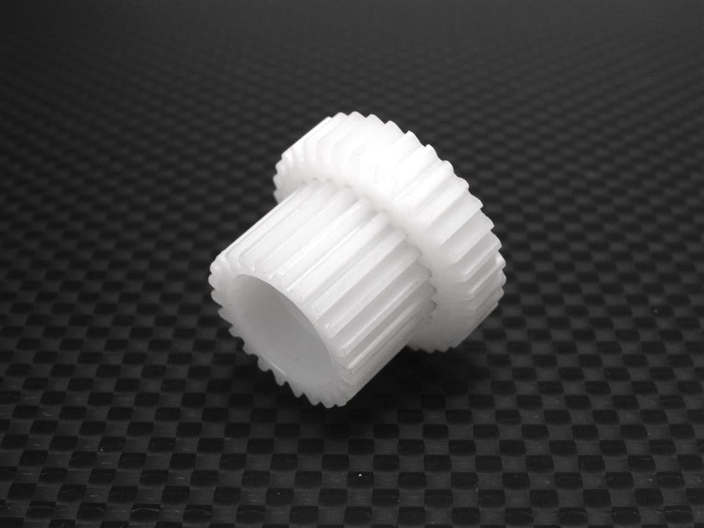 Tamiya TL01 Delrin Spur Gear - 42 Pitch (34T) White