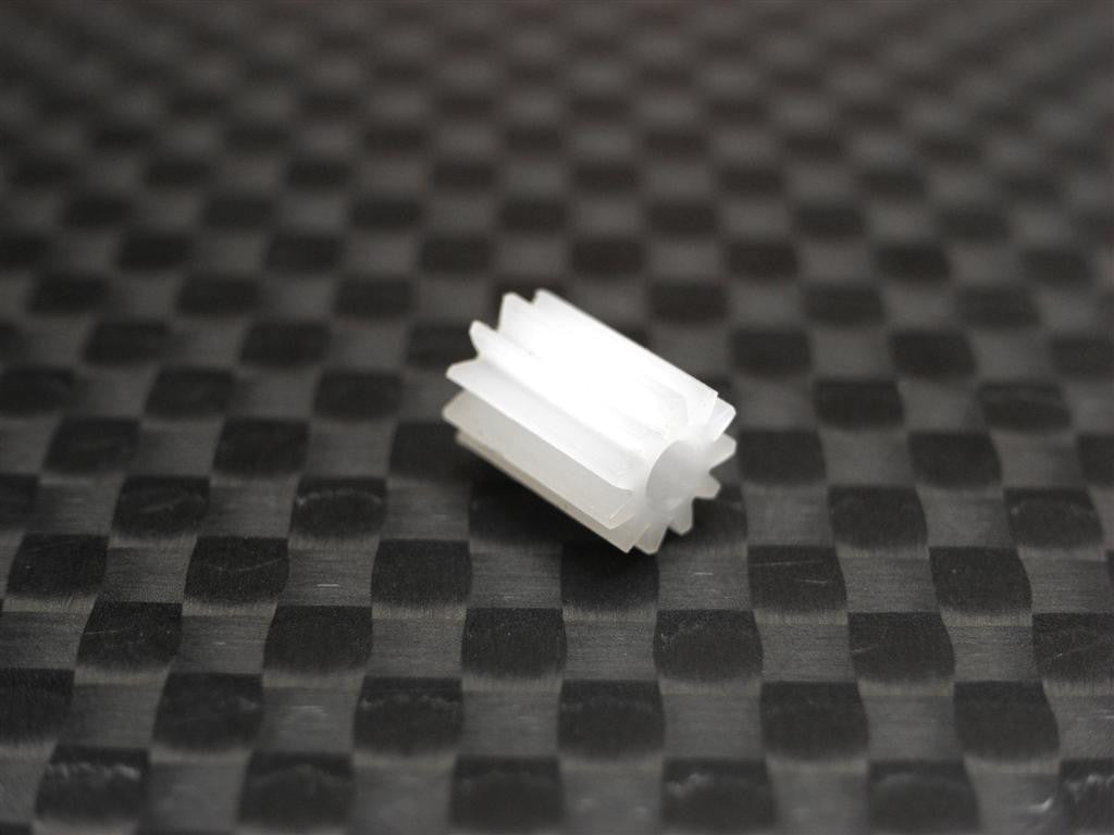 Team Losi Micro T Delrin Motor Gear (12T) - 1Pc White