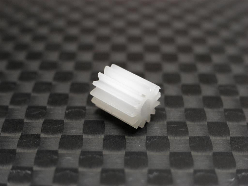 Team Losi Micro T Delrin Motor Gear (13T) - 1Pc White