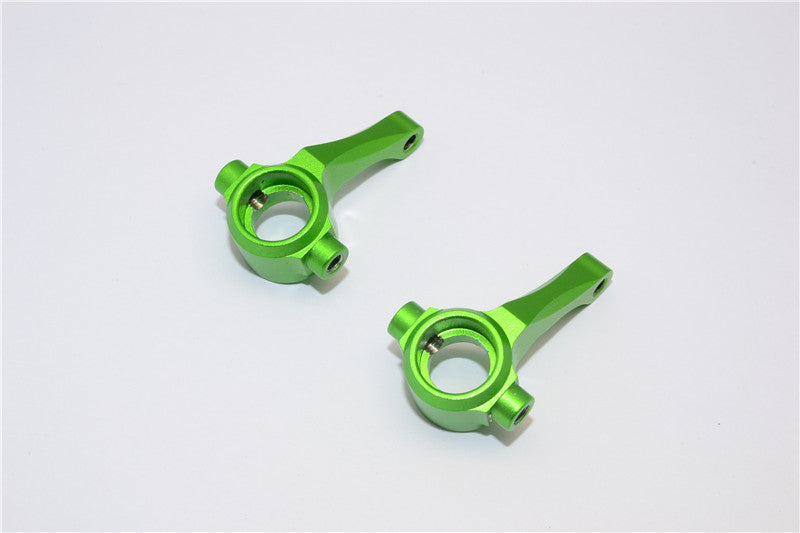 HPI E-Firestorm Flux Aluminum Front Knuckle Arm - 1Pr Green