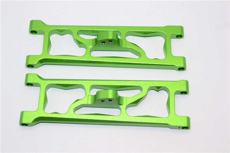 HPI E-Firestorm Flux Aluminum Front Suspension Arm - 1Pr Green