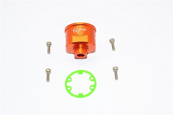 Traxxas E-Revo Aluminum Front/Rear Differential Carrier - 1Pc Set Orange