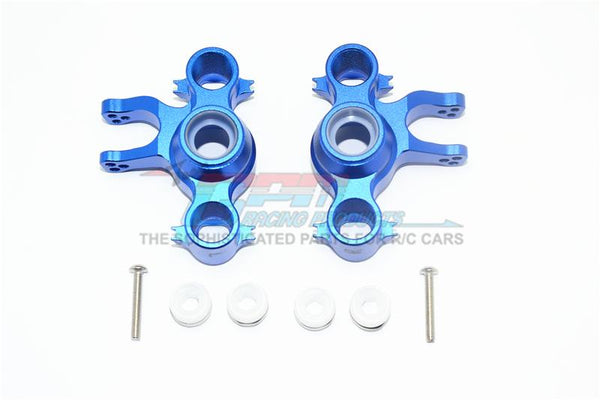 Traxxas E-Revo Brushless (56087-1) Aluminium Front Or Rear Knuckle Arms - 1Pr Set Blue