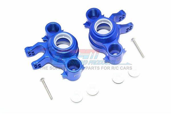 Traxxas E-Revo 2.0 VXL Brushless (86086-4) Aluminum Front / Rear Knuckle Arms - 1Pr Set Blue