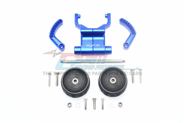 Traxxas E-Revo VXL 2.0 / E-Revo Brushless Aluminum Rear Adjustable Wheelie - 1 Set Blue