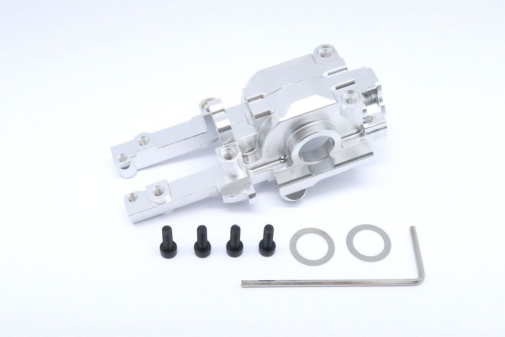 Traxxas 1/16 Mini E-Revo Aluminum Rear Gear Box - 2 Pcs Set Silver