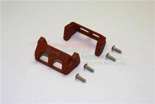 Traxxas 1/16 Mini E-Revo / Mini Rally Aluminum Servo Protector - 2Pc Set Brown