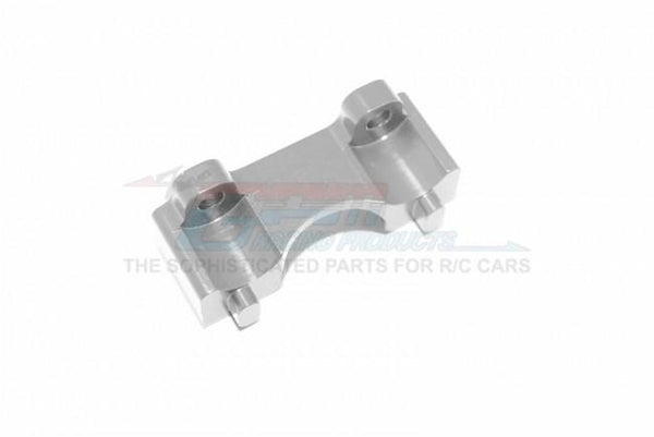 Traxxas 1/16 Mini E-Revo, Mini Slash, Mini Summit Aluminum Front Shock Mount - 1Pc Gray Silver