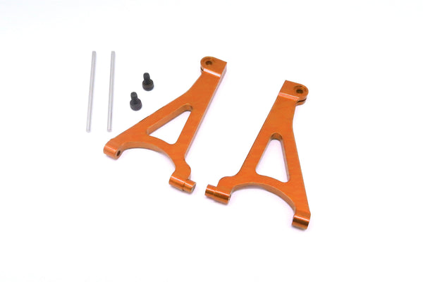 Traxxas 1/16 Mini E-Revo Aluminum Front Upper Arm - 1Pr Set Orange