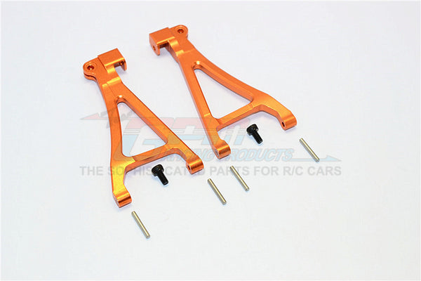 Traxxas 1/16 Mini E-Revo / Mini Summit Aluminum Front Lower Arm - 1Pr Set Orange