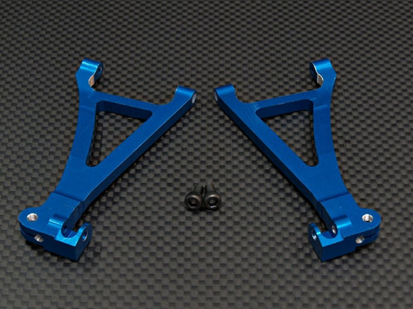 Traxxas 1/16 Mini E-Revo, Mini Summit Aluminum Front Lower Arm - 1Pr Set Blue
