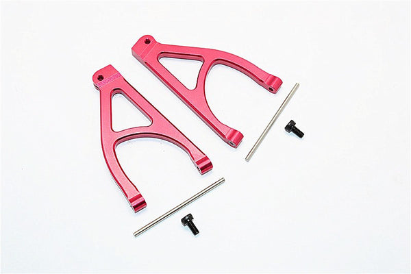 Traxxas 1/16 Mini E-Revo, Mini Summit Aluminum Rear Upper Arm - 1Pr Set Red