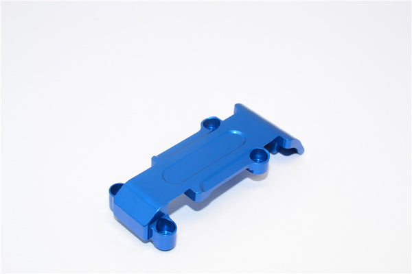 Traxxas 1/16 Mini E-Revo, Mini Slash Aluminum Rear Skip Plate - 1Pc Blue