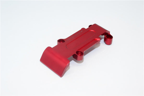 Traxxas 1/16 Mini E-Revo, Mini Slash Aluminum Rear Skid Plate - 1Pc Red