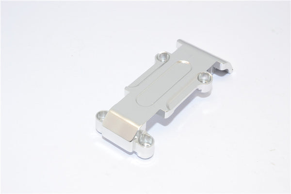 Traxxas 1/16 Mini E-Revo, Mini Slash Aluminum Rear Skip Plate - 1Pc Silver
