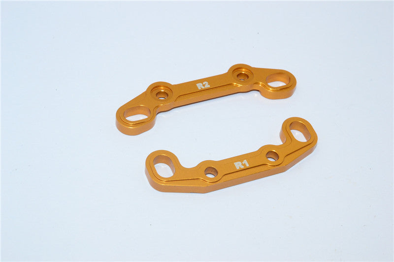 Axial EXO Aluminum Rear Toe Block - 2Pcs Gold