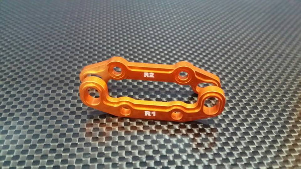 Axial EXO Aluminum Rear Toe Block - 2Pcs Orange