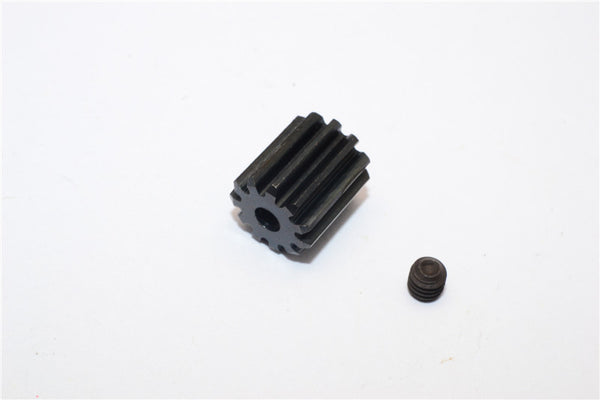 Axial EXO & Wraith Spawn Steel Motor Pinion (11T) - 1Pc Black