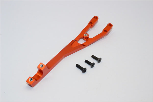 Axial EXO Aluminum Rear Chassis Brace - 1Pc Orange