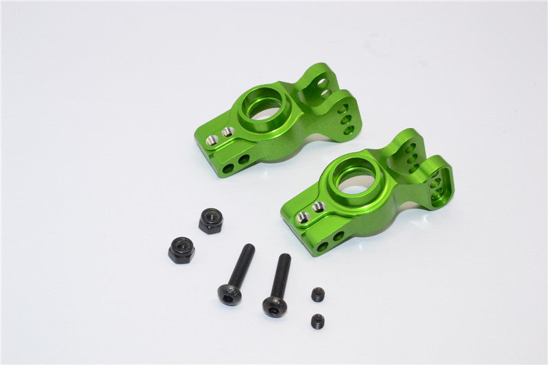Axial EXO Aluminum Rear Knuckle Arm - 1Pr Set Green