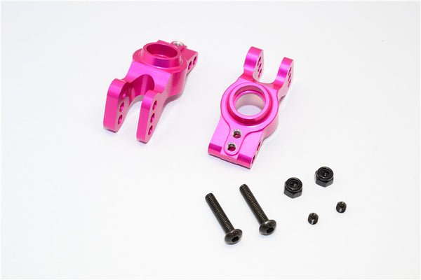 Axial EXO Aluminum Rear Knuckle Arm - 1Pr Set Pink