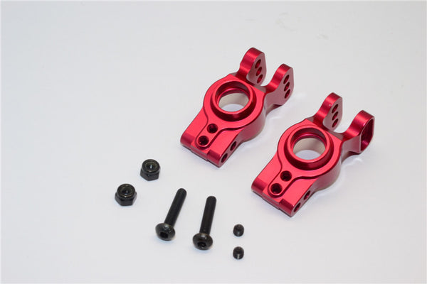 Axial EXO Aluminum Rear Knuckle Arm - 1Pr Set Red