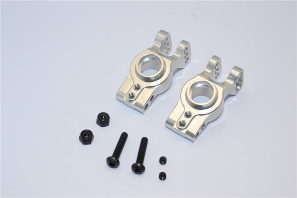 Axial EXO Aluminum Rear Knuckle Arm - 1Pr Set Silver