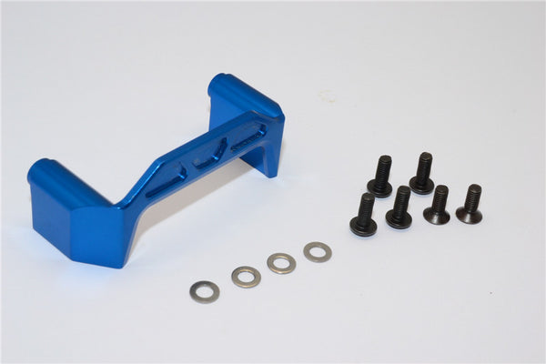 Axial EXO Aluminum Chassis Component Mounts - 1Pc Set Blue