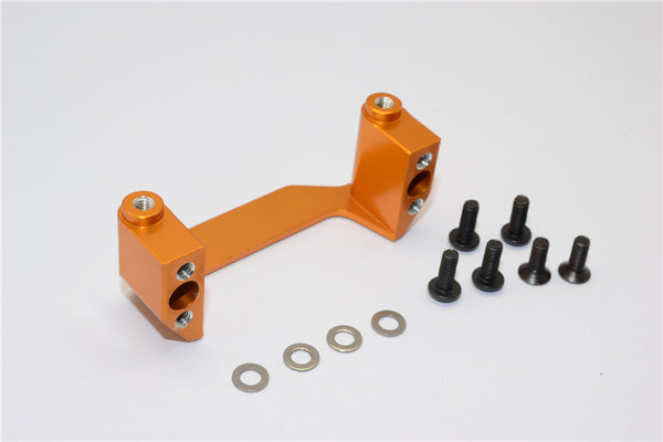 Axial EXO Aluminum Chassis Component Mounts - 1Pc Set Gold