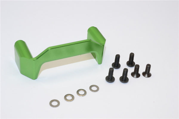 Axial EXO Aluminum Chassis Component Mounts - 1Pc Set Green