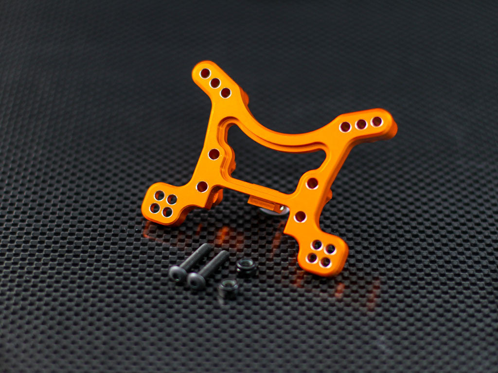 Axial EXO Aluminum Front Shock Tower - 1Pc Set Orange