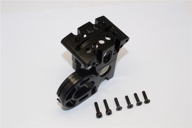 Axial EXO Aluminum Center Gear Box Mount - 1 Set Black