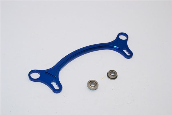 Axial EXO Aluminum Steering Rack - 1Pc Blue