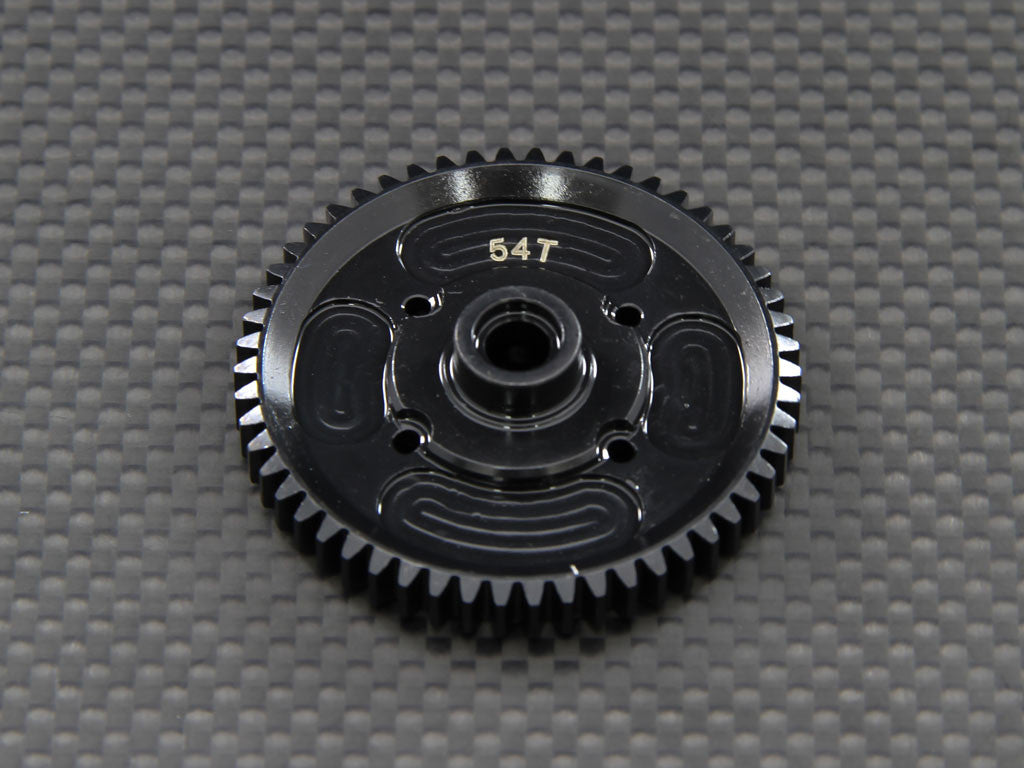 Axial EXO Steel Spur Gear (54T) - 1Pc Black