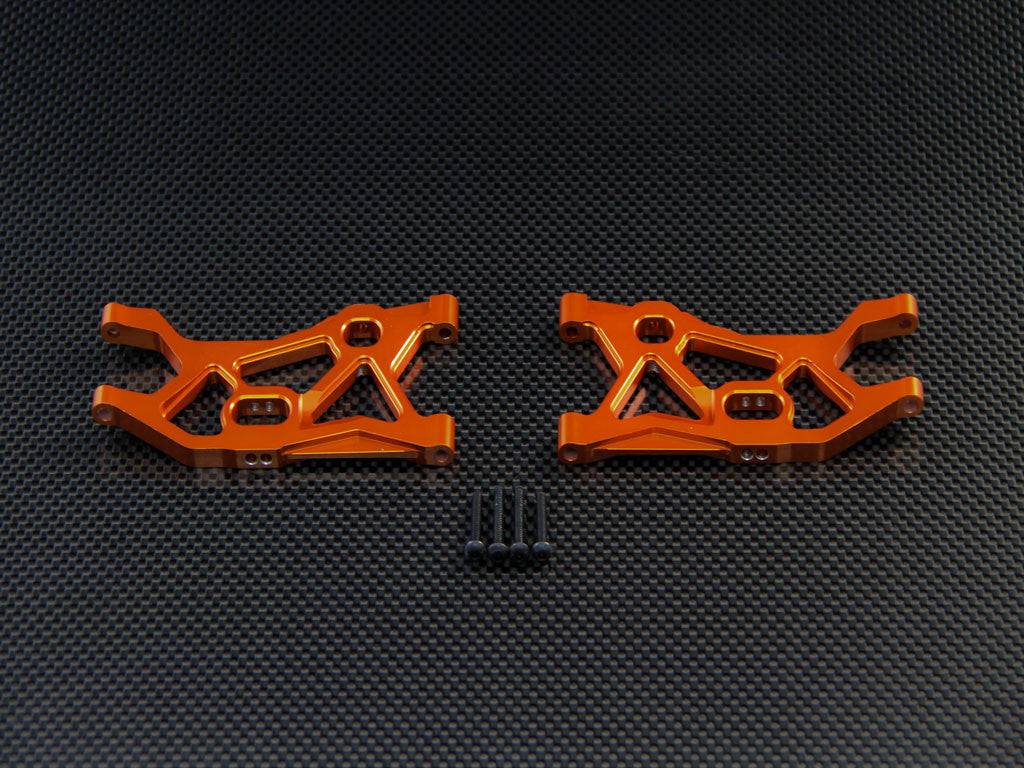 Axial EXO & Axial YETI Aluminum Front Lower Arm - 1Pr Set Orange