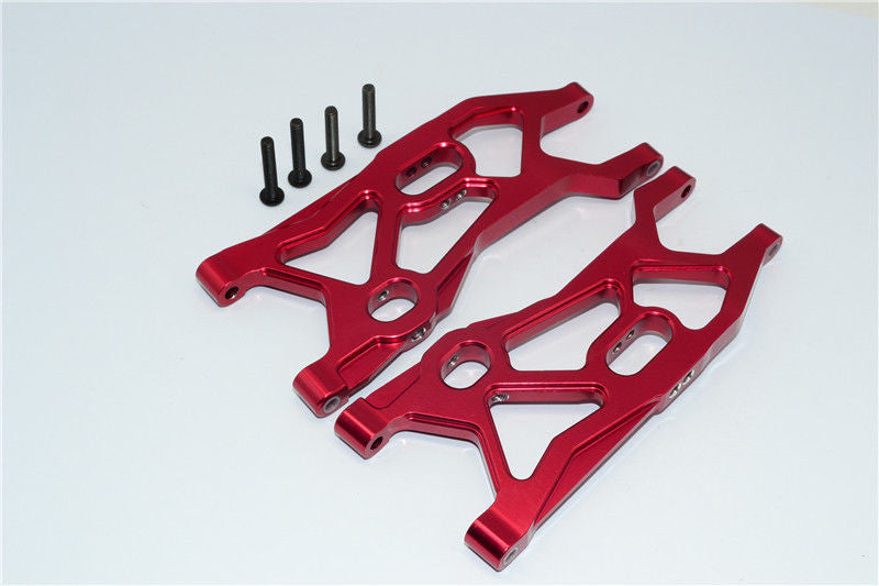 Axial EXO & Axial YETI Aluminum Front Lower Arm - 1Pr Set Red