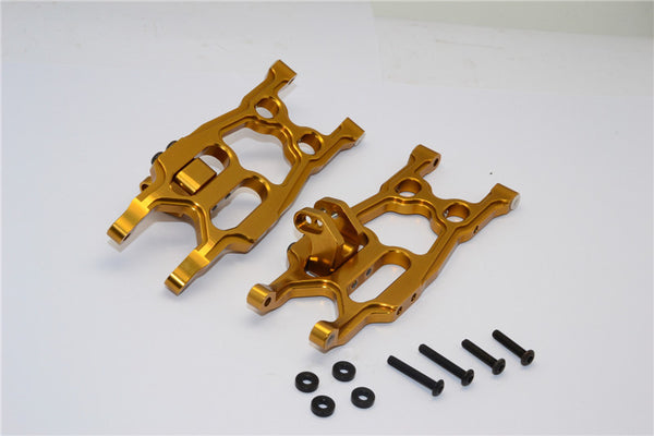 Axial EXO Aluminum Rear Lower Arm - 1Pr Set Golden Black