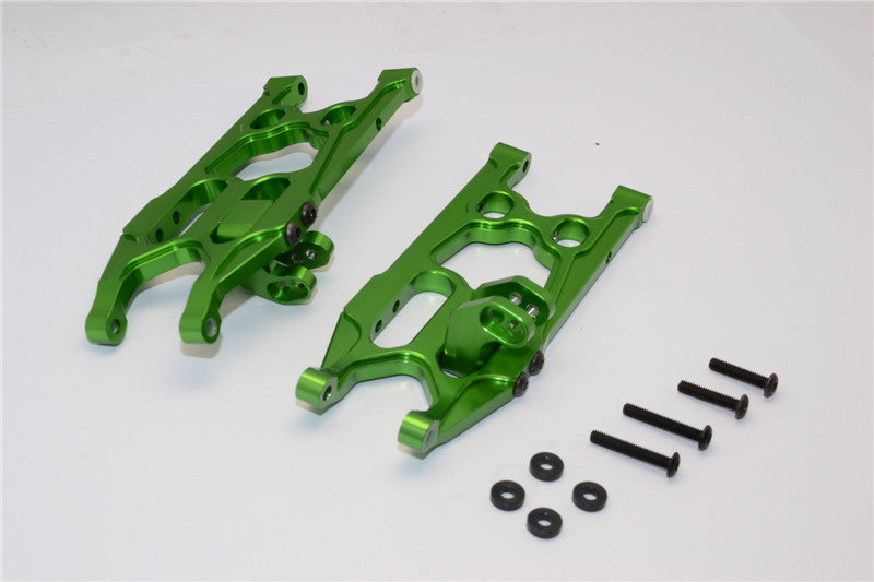 Axial EXO Aluminum Rear Lower Arm - 1Pr Set Green