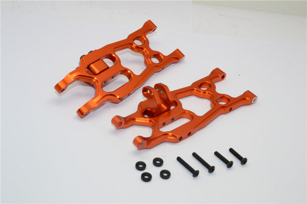 Axial EXO Aluminum Rear Lower Arm - 1Pr Set Orange