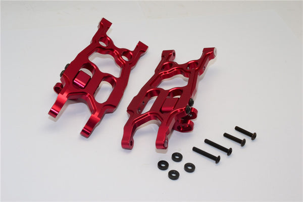Axial EXO Aluminum Rear Lower Arm - 1Pr Set Red