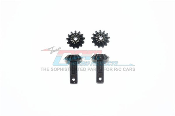 Traxxas E-Maxx 2 Harden Steel #45 Gear Set For Differential Assembly - 4Pc Set Black
