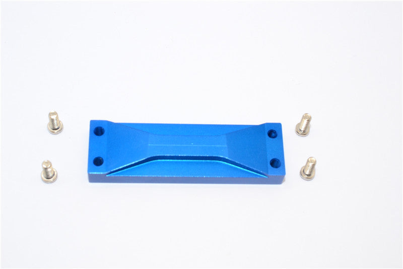 Tamiya Ford F350 High-Lift Aluminum Rear Support - 1Pc Set Blue