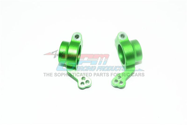 X-Rider 1/8 Flamingo RC Tricycle Aluminum Rear Knuckle Arm - 2Pc Set Green