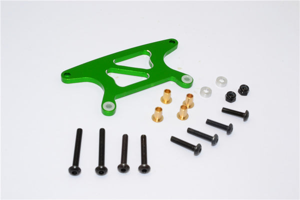 Tamiya GF01 Aluminum Front Shock Tower - 1Pc Set Green
