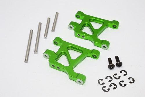 Tamiya GF01 / TL01 Aluminum Front Lower Arm - 1Pr Set Green