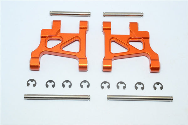 Tamiya GF01 & TL01 Aluminum Front Lower Arm - 1Pr Set Orange