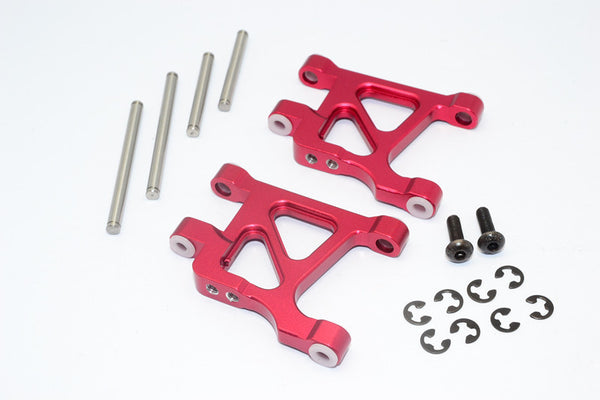 Tamiya GF01 & TL01 Aluminum Rear Lower Arm - 1Pr Set Red