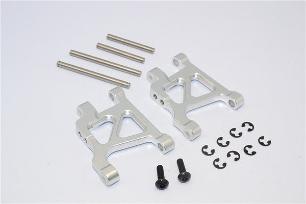 Tamiya GF01 & TL01 Aluminum Rear Lower Arm - 1Pr Set Silver